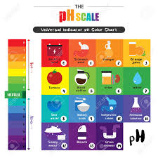 Ph Chart Alkaline The Ph Scale Universal Indicator Ph Color Chart Diagram Acidic