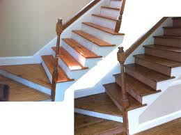 installing engineered hardwood floors on stairs