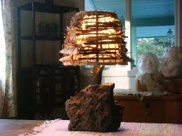rustic lamp shade artistic a collaboration between artist and sculptor carefully crafted wood is used to rustic lamp shade