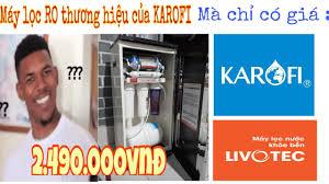 Mua được máy lọc nước RO giá siêu rẻ chỉ 2.5tr của LIVOTEC (KAROFI) tại  Điện máy Chợ Lớn - YouTube