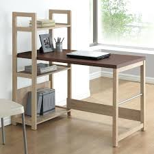 dual desk bookshelf small. Desk With Shelf Writing Bookshelf Stand For Dual Monitors Small V