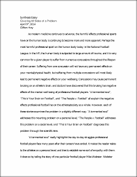 synthesis essay synthesis essay covering all sides of a problem this preview has intentionally blurred sections sign up to view the full version