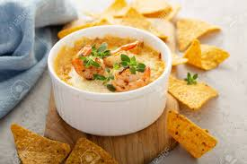Spicy Seafood Dip In A Ramekin Stock ...
