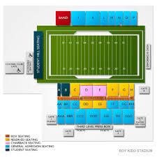 Roy Kidd Stadium Seating Chart Roy Kidd Stadium 2019 Seating Chart