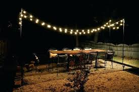 how to hang string lights hanging string lights on patio unique how to hang outdoor string