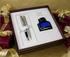 Free Ink Pens Sonnet Fountain Ballpoint Pens Set Stainless Steel Gold Trim