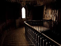 Image result for inside the house at night spooky images