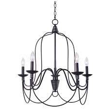 manor brook rivy west 5 light oil rubbed bronze chandelier with silver highlights