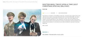 BBC shop listing shares the first full synopsis for Doctor Who ...