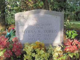 Myrna Willis Dorris (1942-2005) - Find A Grave Memorial
