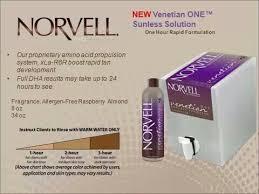 Norvell New Venetian Rapid Tanning Beauty Mobile Spray