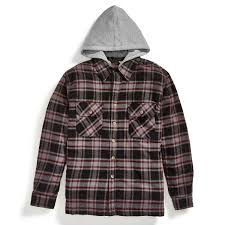 MOOSE CREEK Men's Quilted Hooded Flannel Jacket - Bob's Stores & MOOSE CREEK Men's Quilted Hooded Flannel Jacket - 193 BURGUNDY Adamdwight.com