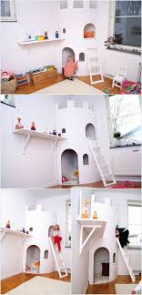 A Two Story Castle Playhouse for Your Prince or Princess