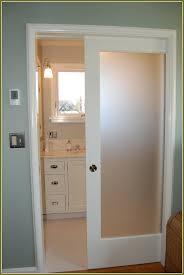 incomparable glass pocket door interior pocket door with translucent glass insert bathrooms
