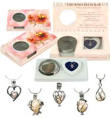 love pearl freshwater pearl gift set included pearl in oyster copper or sterling silver pendant 18 chain opener and instruction
