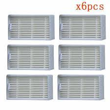 Main Brush Hepa Filter <b>Side Brush Primary Dust</b> Filter Replacement ...