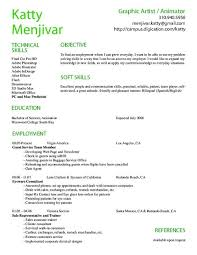 Animator Resume Template 7 Free Word Pdf Documents Download