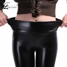 <b>CHRLEISURE S 5XL</b>, модные кожаные леггинсы больших ...