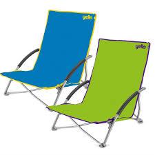 Silla Tumbona Fresh Yello Bajo Plegable Silla De Playa Camping Festival  Playa Piscina