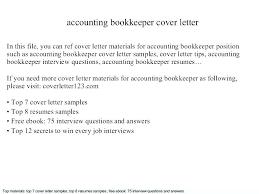 Bookkeeping Resume Emelcotest Com