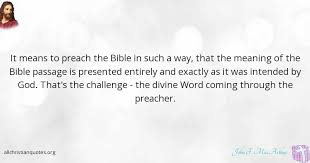 Meaning Of Quote Inspiration John F MacArthur Quote About Bible Preach Successors