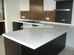 solid white countertops prefab natural quartz stone