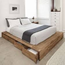 low platform beds with storage. Modren Platform Lose The Clunky Underthebed Storage Containers And Replace Them With This  Clever Convenient Alternative With Eight Large Rolling Drawers  Intended Low Platform Beds Storage Pinterest