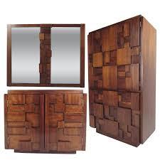 lane bedroom furniture. MidCentury Brutalist Bedroom Set By Lane Furniture For Sale And