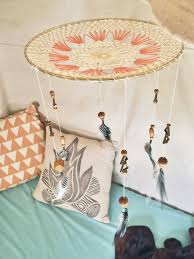 Dream Catcher Nursery Bedding Dreamcatchers Feather Mobiles Project Nursery 52