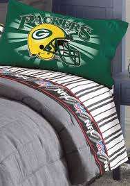 green bay packers queen size pinstripe