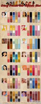 For My Little Princess One Day Disney Princess Color Palette