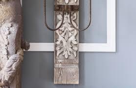 distressed wood chandelier chandeliers white chandelier décor steals
