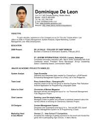Sample Resume For Ojt Engineering Students Sample Resume Of Hrm Students For Ojt Danayaus 9