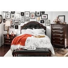 Pulaski Edwardian Bedroom Furniture Pulaski Furniture Bedroom Sets Farrah Panel Bedroom Set In Silver