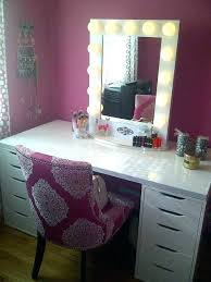 hollywood vanity makeup table desk large size of mirror with lights lovely 0 and for