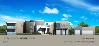 Ultra Modern Houses Ultra Modern House Plan In Owerri Imo State Nigeria Designed By