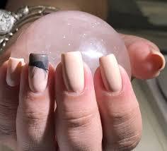 mauve nail polish beautiful 9 best coffin nails matte blue â fitnailslover