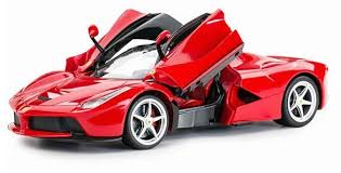 rastar licensed 1 14 scale ferrari laferrari aperta open door remote controlled sports car