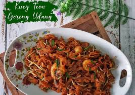 Kuey Teow Goreng Udang Yang Mudah dan Lazat | Kongsi Resepi Sedap dan Mudah