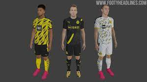 Colors that will not fade after years. Leaked Dortmund 20 21 Away Kit In Fifa 20 Home Third Predictions Footy Headlines