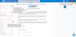 Create Electronic Signature Documents For Others Signority