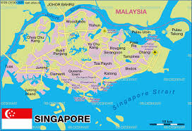 map of singapore  map in the atlas of the world  world atlas