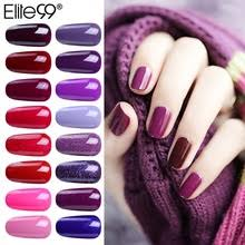 Elite99 <b>15 мл</b> Блестящий чистый серия УФ-<b>лак для ногтей</b> ...