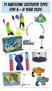 11 Top Outdoor Toys for 6 - 8 Year Olds Kids