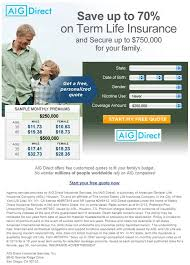 Direct Insurance Quote Adorable Download Aig Term Life Insurance Quote Ryancowan Quotes