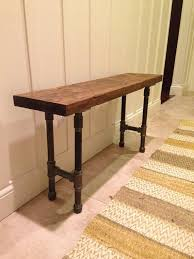 diy pallet iron pipe. Distressed Reclaimed Wood Black Iron Pipe Bench FREE By CRJDesign, $259.00 Diy Pallet