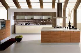 kitchen modern kitchen island table minimalist wood bookcase wall black bar stools granite top white