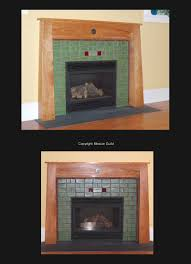 one of a kind fireplace mantels 3300 splymntl antok arts crafts mission mission guild tiles sold separately lead times apply starting 3 294 00