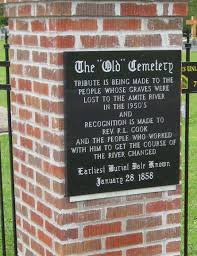 Amite Baptist Church Cemetery Old In Denham Springs Louisiana Magnificent Me Too Anta Amite