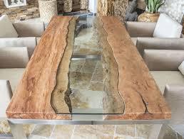 DER TISCHONKEL :: Designertisch Massivholztisch mit Glas und ...